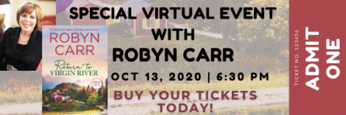 Return to Virgin River Virtual Event with Robyn Carr