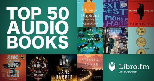 Top 50 Audiobook Bestsellers
