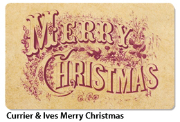 Currier and Ives Gift Card